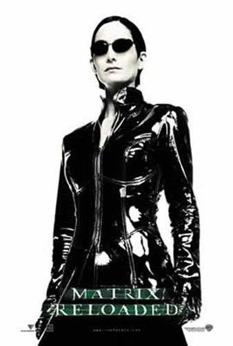 Matrix, The - Poster - Reloaded, Trinity, Full I + Ü-Poster