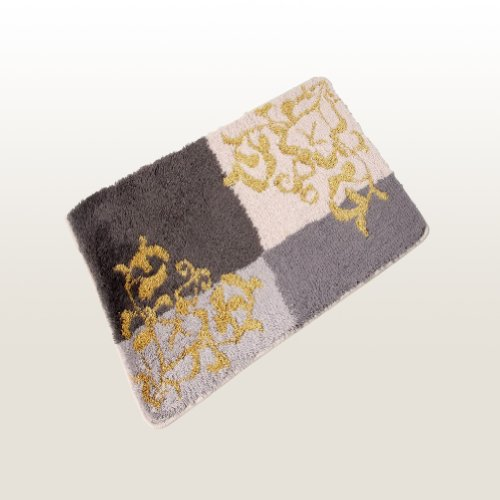 Naomi - [Graceful Grey] Luxury Home Rugs (27.5 by 55 inches)