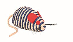 Trixie Sisal Mouse Cat Toy, 10 cm multicolor