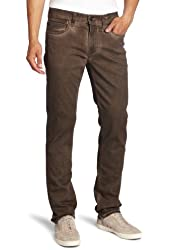 Joe's Jeans Men's Colored Brixton Straight and Narrow Leg Jean in Brownie