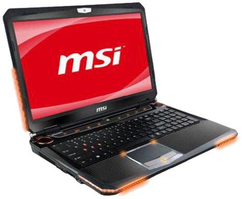 MSI GT683-694UK 15.6 inch Laptop (Intel i5-2430M 2.4GHz, RAM 8GB DDR3, HDD 750GB, DVD-RW, Windows 7 Home Premium 64 Bit)