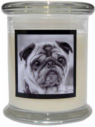 Aroma Paws 322 Breed Candle 12 Oz. Jar - Pug