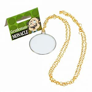 Gents Monocle on Gold Chain