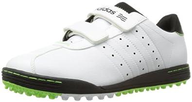 Adidas Adicross II Run Men's Velcro Spikeless Golf Shoes (wide) (8 US, White)
