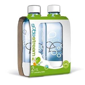 SodaStream 1 liter Carbonating Bottle 2 pack