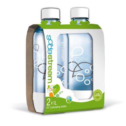 sodastream 1 liter carbonating bottle 2 pack. Black Bedroom Furniture Sets. Home Design Ideas
