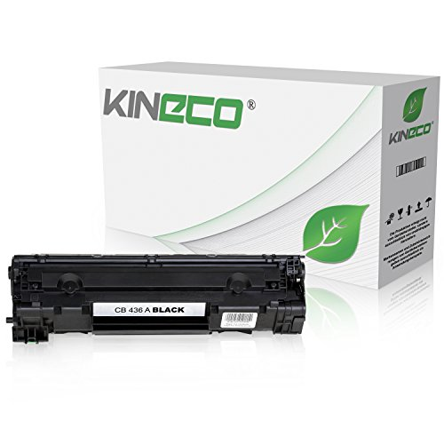 Kineco Toner kompatibel zu HP CB436A LaserJet P 1503 1504 1505 1506 N M 1522 NF 1120 A N H W MFP 1500 Series – 36A – Schwarz 2.000 Seiten