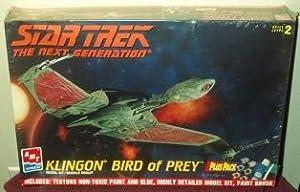 Klingon Bird of Prey Model Kit Star Trek the Next Generation