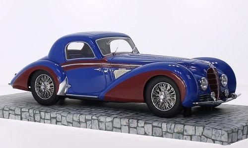 delahaye-type-145-v-12-coupe-blau-rot-1937-modellauto-fertigmodell-minichamps-118