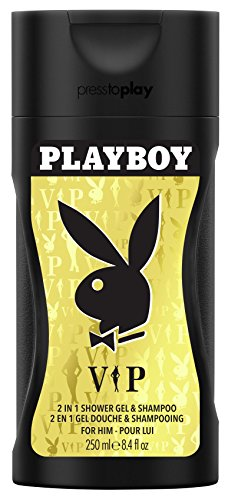 Uomini Doccia Gel 250 ml Playboy VIP, 1er Pack (1 x 250 ml)