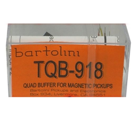 BARTOLINI TQB 918 Quad Buffer Magnetic Pickups