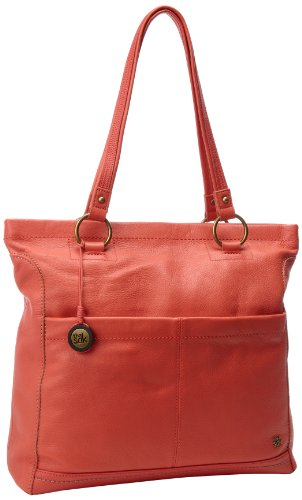The Sak Iris Tote Shoulder Bag, Cayenne, One Size