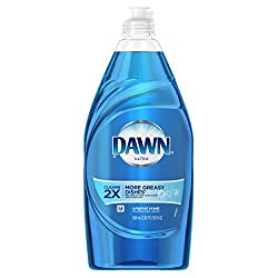 Dawn Ultra Dishwashing Liquid Original Scent Blue 24 Ounce