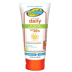 TruKid Sunny Days Daily SPF 30 Plus UVA/UVB Sunscreen Lotion