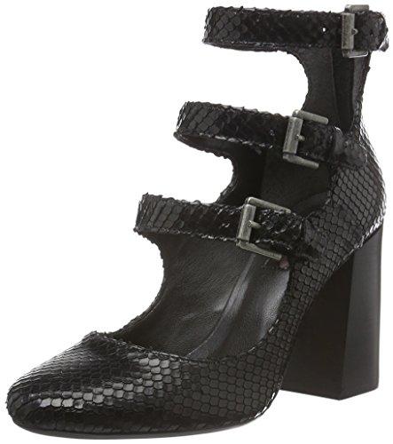 Bronx - Aleza, Scarpe col tacco Donna, Nero (black 01), 38