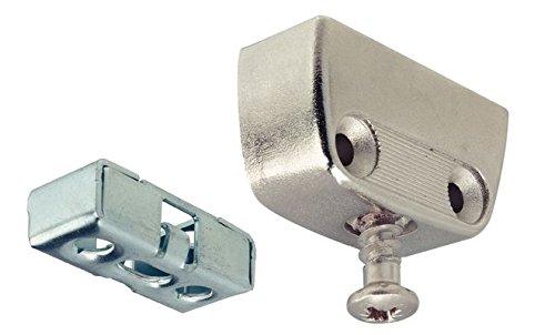 12-Set-GedoTec-Profi-Verbindungsbeschlag-Trapezverbinder-Korpusverbinder-RV-STAHL-Mbelverbinder-Komplett-Set-mit-Rastfunktion-verstrkte-Metall-Schrankverbinder-Markenqualitt-fr-Ihren-Wohnbereich
