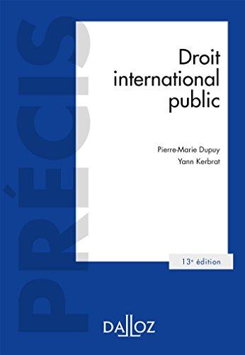 Droit international public - 13e éd.