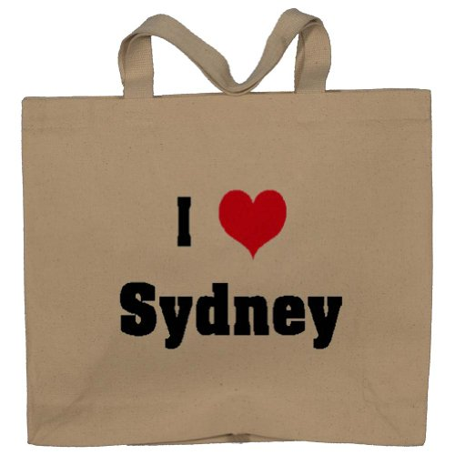 I Love/Heart Sydney Totebag (Cotton Tote / Bag)
