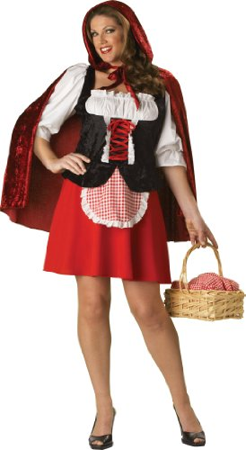 InCharacter Costumes Women's Red Riding Hood Plus Size  Costume