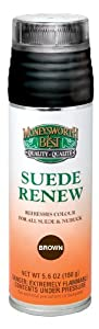 Moneysworth and Best Suede Renew Dye, 5-Ounce, Medium Brown by Moneysworth and Best Shoe Care INC.