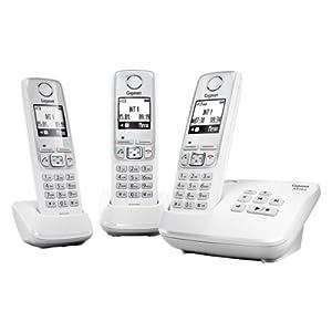 Gigaset A420A TRIO Téléphone fixe Blanc