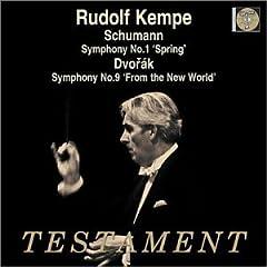 輸入盤 ケンペ指揮 ドヴォルザーク:交響曲第9番《新世界より》、シューマン:交響曲第1番《春》のAmazonの商品頁を開く