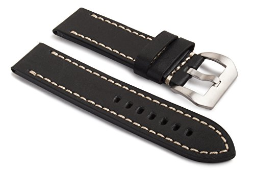 watchassassin-22mm-22mm-hand-stitched-black-leatherwhite-stitching-watch-strap-with-buckle
