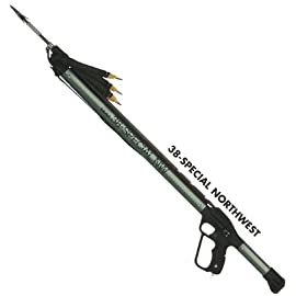 New JBL 44 Inch 38-Special Northwest Magnum Triple Sling Professional Speargun (4D38NW) (AP-389)