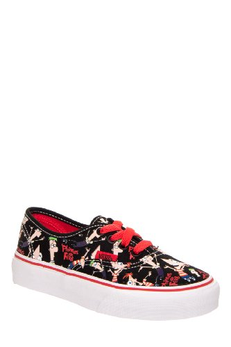 Vans Kids' Authentic Phineas & Ferb Sneaker