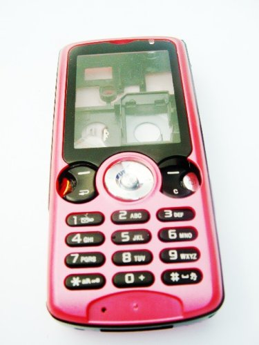 KMS - OEM Sony Ericsson W810i Style-up Housing Keyboard Fascia cover for the W810i - (FULL HOUSING - FRONT, BACK & SIDES) NEW HOT PINK
