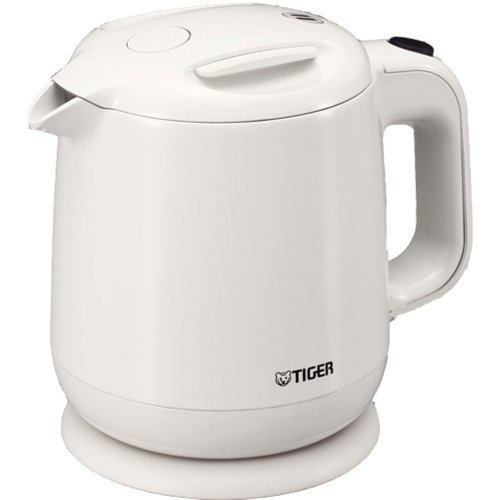 Tiger Electric Kettle 0.8 L (Fluorine Processing Containers) White Pce-A080-Wa By Tiger