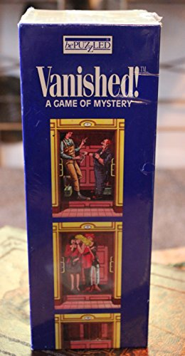 Vanished!: A Mystery Card Game