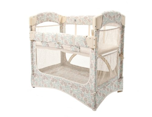 Arm's Reach Concepts Mini Arc Co-Sleeper Bassinet, Damask - 1