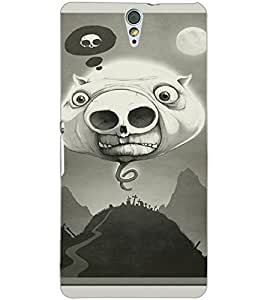 SONY XPERIA C5 PIGGY Back Cover by PRINTSWAG