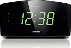Philips AJ3400/37 Clock Radio Black