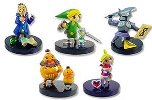 Legend of Zelda Phantom Hourglass Figure Set of 5 Complete
