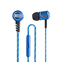 Altec Lansing MZX147 In-Ear Headphones with Mic (Blue)