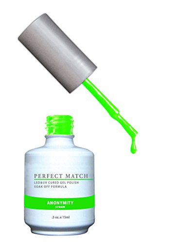 LECHAT Perfect Match Nail Polish, Anonymity, 0.500 Ounce (Neon Gel Nail Polish compare prices)