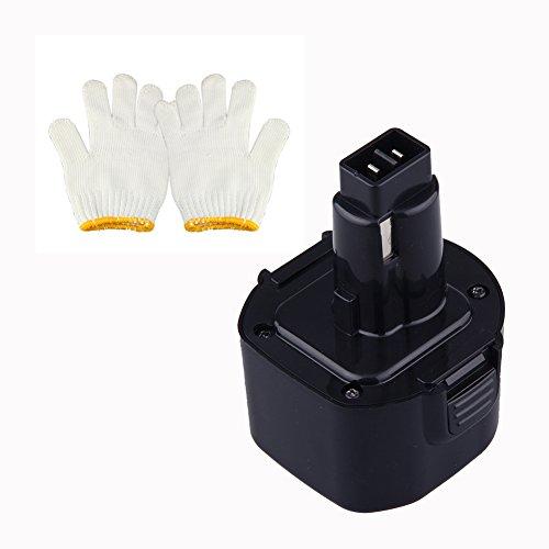 Coco-Vision 9.6V 3000Mah Ni-Mh Battery For Dewalt Dw9061 De9036 De9061 De9062 Dw9062 Dc750Ka Dc855Ka Dw050 Dw050K Dw902 Dw926 Dw926K Dw926K-2 Dw955 Dw955K Dw955K-2