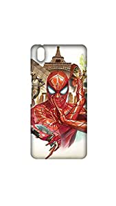 Spider Man With Two Mutaints Case For One Plus X