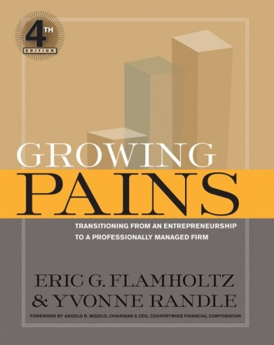Growing Pains: Transitioning from an Entrepreneurship