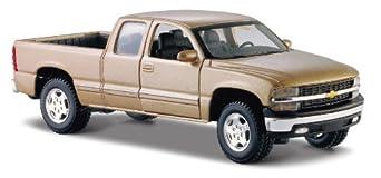 Maisto 1:27 Scale Chevrolet Silverado Diecast Vehicle (Colors May Vary