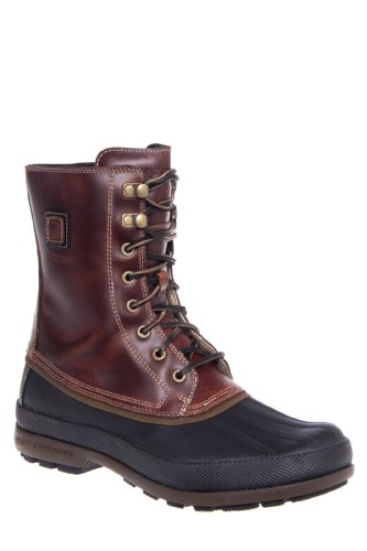 Sperry Top-Sider Mens Cold Bay Boot Amaretto-Black Boots M
