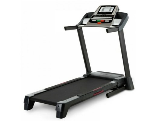 Proform 400 ZLT Treadmill - Black Red Silver, HWL 139X84X181 cm
