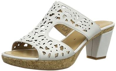 Gabor Shoes Gabor 85.733.21 Damen Clogs & Pantoletten, Weiß (weiss+Absatz), EU 40 (UK 6.5) (US 9)