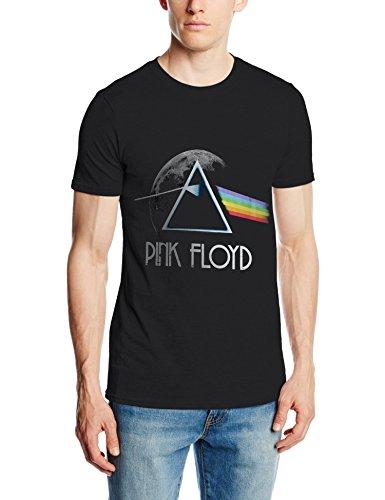 Pink Floyd, T-Shirt Uomo, Nero, Large