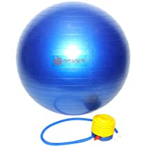 Exercise Ball for Balance with Pump Included - Yoga Ball by Omkara