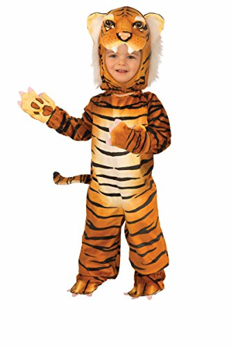 Forum Novelties Plush Tiger Child Costume, Small (Tiger Costumes For Kids)