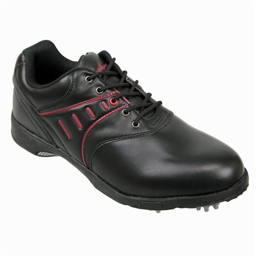 Confidence Golf Leather Waterproof Shoes Black