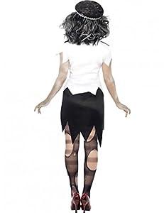 Smiffy's Adult Zombie Policewoman Costume